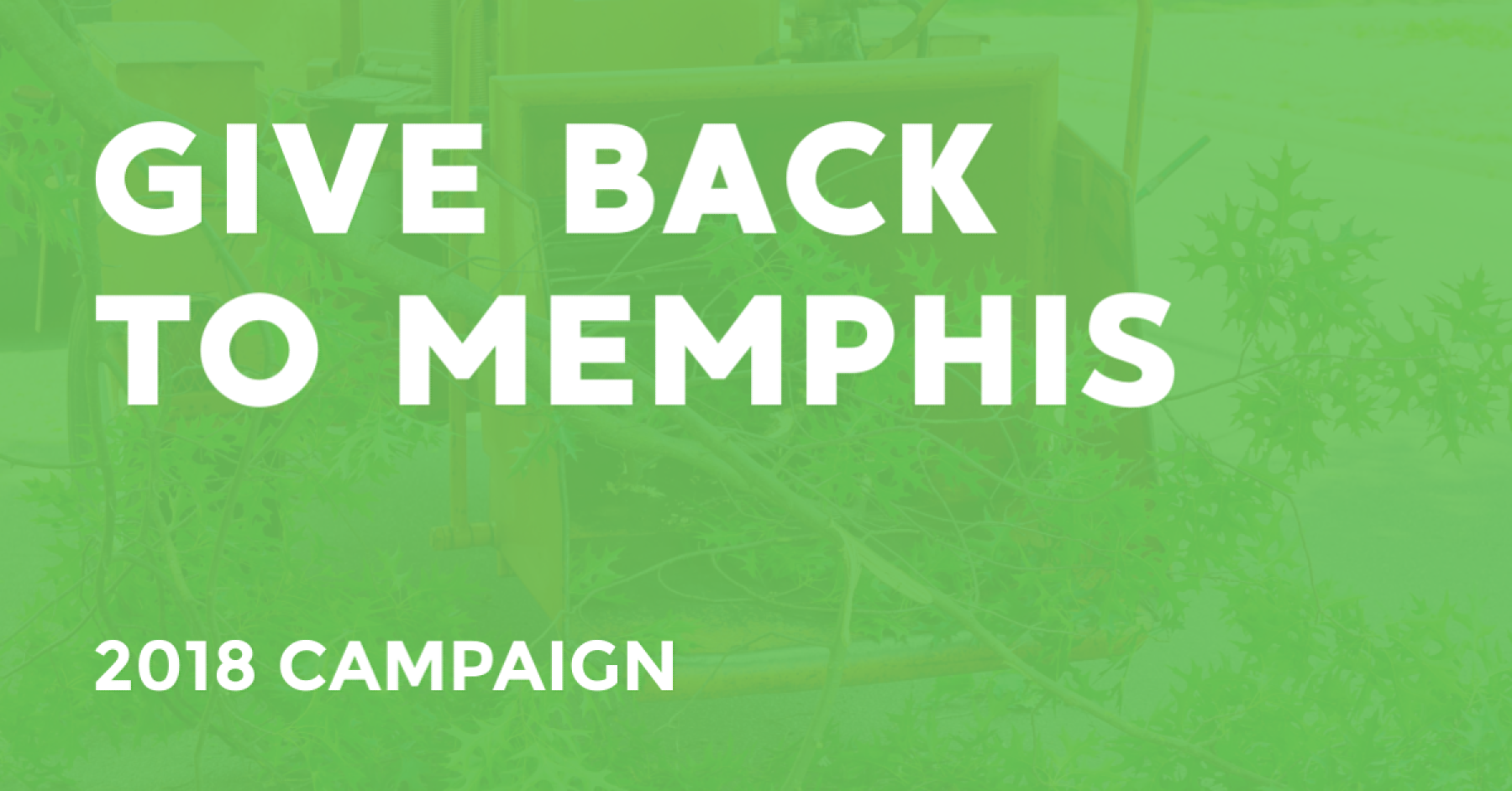 GIve Back To Memphis Mister Tree Service